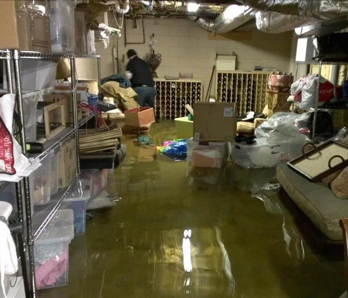 Water Damage Flooded Basement in Talbot / Dorchester County